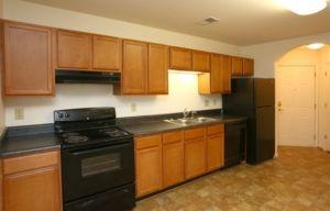 Charlottesville Apartment Kitchen