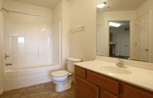Charlottesville Apartment bathroom