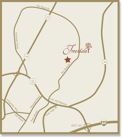 Map of Treesdale